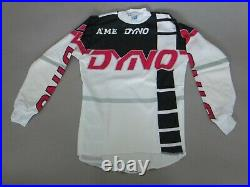 A'ME GT Dyno Old School BMX Bike, Long-Sleeve Jersey Freestyle Black/White, AS