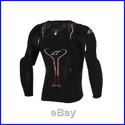 Alpinestars Evolution Long Sleeve Jacket Black/white/red Size Medium Srp £180.00