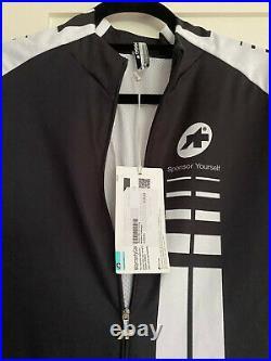 Assos Cycling Mille long Sleeve Jersey Black Volkanga Size M Brand New Tags