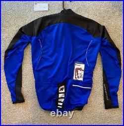 Assos Intermediate EVO AIRBLOCK 799 Blue Long Sleeve Jersey Size M Medium