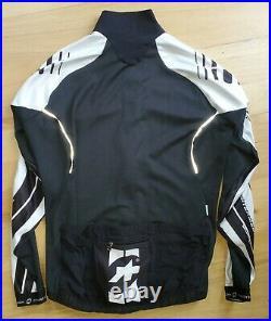 Assos Men's Intermediate Long Sleeve Jersey Black White L Large