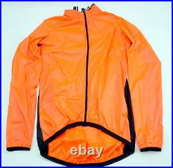 Assos Mille GT Wind Jacket Men's Medium Long Sleeve Lollyred Full Zipper Cycling