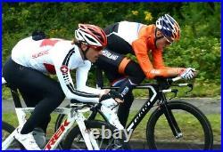 Assos Olympiakos Long Sleeve cycling jersey Men's size medium