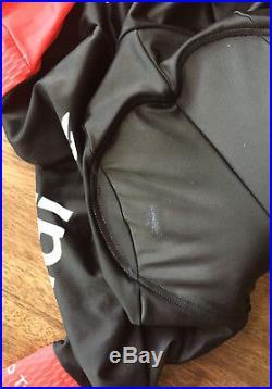 Audi Mens Cycling Skinsuit / Speedsuit Long Sleeve X-Large- Cuore