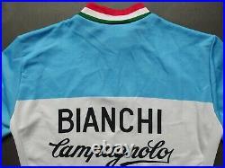 BIANCHI CAMPAGNOLO Vintage Retro Cycling Jersey Long Sleeve Radtrikot Maglia