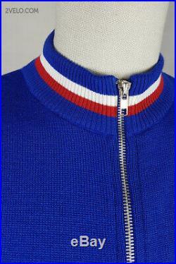 BROOKLYN GIOS vintage wool long sleeve jersey, new, never worn L