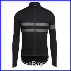 Black Hi Viz Rapha Brevet Long Sleeve Cycling Jersey Sz Medium BNWOT Training