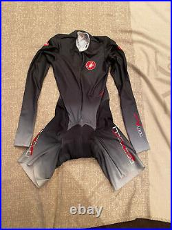 CASTELLI Cycling Long Sleeve Skinsuit BRAND NEW BODYPAINT ORIGINAL SIZEXL Unisex