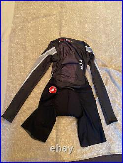 CASTELLI Cycling Long Sleeve Skinsuit BRAND NEW BODYPAINT ORIGINAL SIZE L Unisex