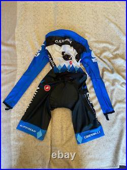CASTELLI Cycling Long Sleeve Skinsuit BRAND NEW GARMIN ORIGINAL SIZE M Unisex