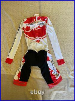CASTELLI Cycling Long Sleeve Skinsuit BRAND NEW ITALIA ORIGINAL SIZE M Unisex