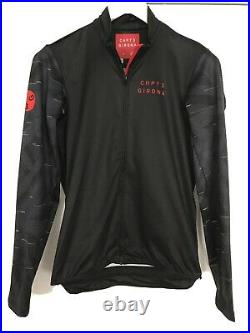 CHPT 3 Castelli Girona Long Sleeve Jersey Black/grey/red Size XL Worn Once