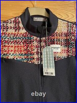 Cafe du Cycliste Clemence Navy Men's Long Sleeve Jersey XXL Sold Out BNWT