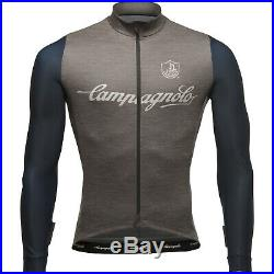 Campagnolo Men's Palladio Long Sleeve Jersey (XS-XXXL) Grey / Blue