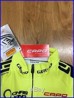 Capo Custom Long Sleeve Skinsuite NEW, size M, Santa Cruz / Foxshox / Shimano