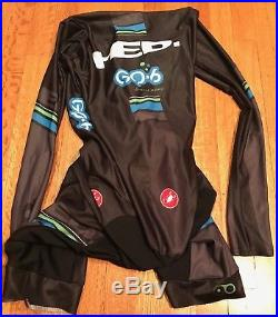 Castelli Body Paint Speed Suit Long-Sleeve M Worn 1x World Championships