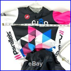 Castelli Dyna Racing Speed Suit Skin Suit One Piece Long Sleeve Mens Large