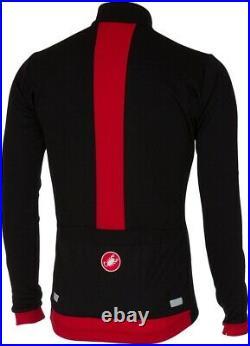 Castelli Fondo Long Sleeve Mens Cycling Jersey Black