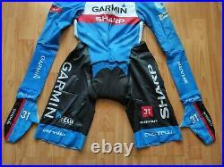 Castelli Garmin Sharp Team Body Paint Men's Long Sleeve Speed Suit 3.2 SizeL