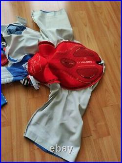 Castelli Garmin Sharp Team Body Paint Men's Long Sleeve Speed Suit 3.2 Size M
