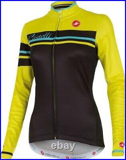 Castelli Girone Women's Wool Blend Long Sleeve Cycling Jersey