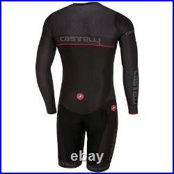 Castelli Men's Team Long Sleeve Cycling Skinsuit X2 Air Chamois
