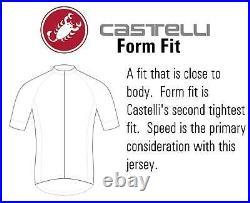 Castelli Men's White Cycling Long Sleeve Skin Suit Size M, L Kiss Chamois