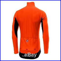 Castelli PERFETTO Long Sleeve Windproof Cycling Jacket (Orange)