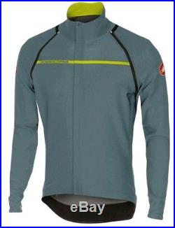 Castelli Perfetto Convertible Long Sleeve Cycling Jacket Grey Size L