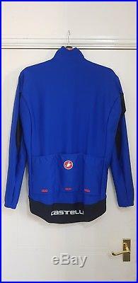 Castelli Perfetto Long Sleeve Cycling Jacket Surf Blue £174.99 RRP XXL