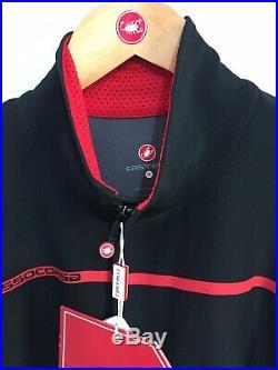 Castelli Perfetto Long Sleeve Jersey Black Medium