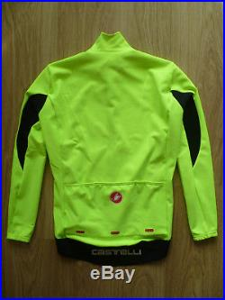 Castelli Perfetto Long Sleeve Rossocorsa Mens Cycling Jacket. Size L