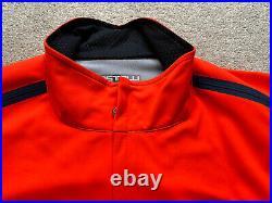 Castelli Perfetto ROS Long Sleeve Cycling Jacket Orange
