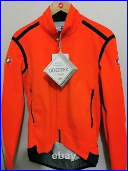 Castelli Perfetto ROS Long Sleeve Jersey Orange 2XL