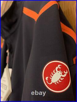 Castelli Perfetto ROS Long Sleeve Mens Jersey Dark Steel Blue -2XL BNWT