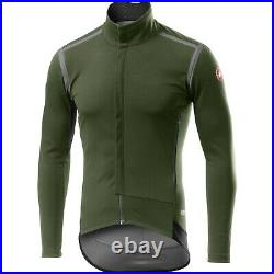 Castelli Perfetto ROS Long Sleeve Winter Windproof Cycling Jacket SS21 Size XL