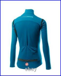 Castelli Perfetto ROS Long Sleeve Women's Jersey Marine Blue, Size Medium