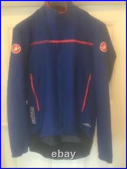 Castelli Perfetto Rosso Corsa Mens Long Sleeve Cycling Jacket / Jersey Large