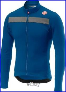 Castelli Puro 3 Long Sleeve Jersey Blue RRP £100