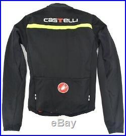 Castelli Sanremo 2 Long Slv Thermosuit Men MEDIUM Black GORE Softshell Road Bike