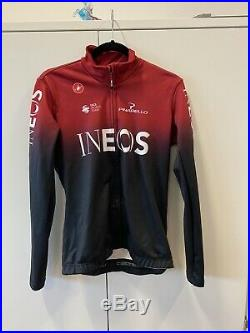 Castelli Team INEOS Long Sleeve Thermal Jersey Large Used Once