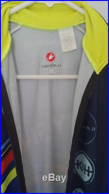 Castelli Thermal one piece Long Sleeve Skinsuit size Large Cyclocross Time Trial