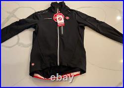 Castelli Trasparente Due Wind Long-Sleeve Jersey Jacket Men's Large 149$MSRP