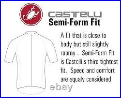 Castelli Trasparente Men's Long Sleeve Gore Windstopper Cycling Jersey Large