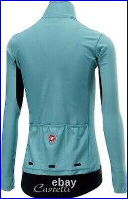 Castelli Women's Perfetto (Gabba) Long Sleeve Jacket Blue Size Small