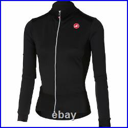 Castelli Women's Sciccosa Thermal Long Sleeve Cycling Jersey Black Size Small