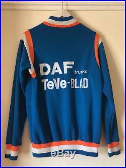 Classic DAF Teveblad Rossin Team Cycling Jersey, Long Sleeve By Renato, Belgium