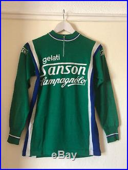 Classic Gelati Sanson Team Cycling Jersey, Long Sleeve By Moa Sport