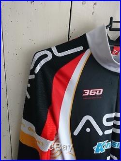 Cuore Silver long sleeve Speedsuit/Skinsuit with NoPinz aero Pocket No Pinz