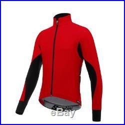 Cycling Jacket Long Sleeve Santini Beta Windstopper 2017 Black XL Full Zipper